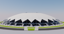 Load image into Gallery viewer, Cosmos Arena - Samara Russia 3D model