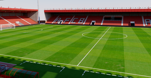 Dean Court Stadium - Bournemouth 3D model