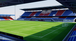 Doosan Arena - Plzen, Czech Republic 3D model