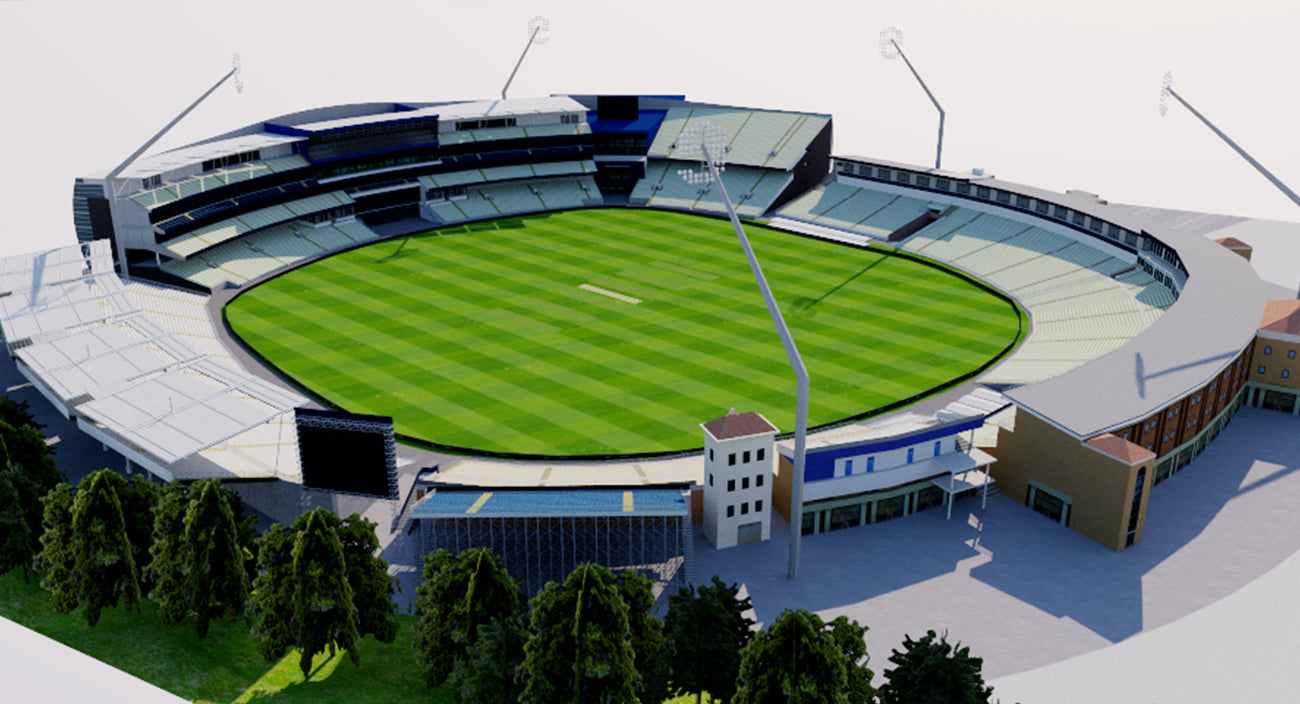 Edgbaston Cricket Ground - Birmingham 3D model
