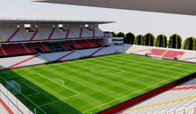 Load image into Gallery viewer, Estadio de Vallecas - Madrid 3D model