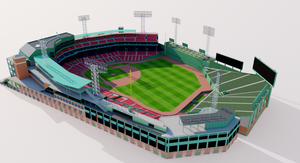 Fenway Park - Boston 3D model