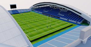 Level5 Stadium - Fukuoka, Japan 3D model