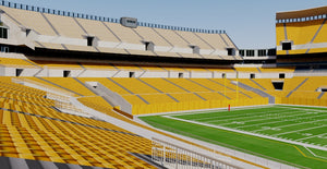 Heinz Field - Pittsburgh 3D model
