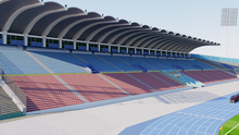 Load image into Gallery viewer, Independence Park - Kingston - Jamaica 3D model