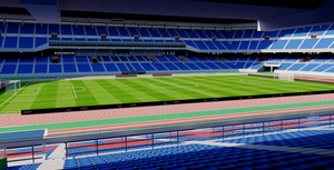 International Stadium Yokohama - Japan 3D model