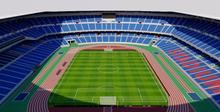 Load image into Gallery viewer, International Stadium Yokohama - Japan 3D model