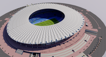 Load image into Gallery viewer, Jaber Al-Ahmad International Stadium - Kuwait 3D model