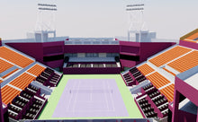 Load image into Gallery viewer, Khalifa International Tennis - Doha, Qatar 3D model