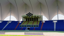 Load image into Gallery viewer, King Fahd International Stadium - Riyadh Saudi Arabia 3D model