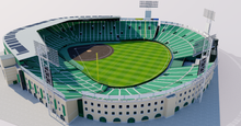 Load image into Gallery viewer, Koshien Stadium - Japan 3D model