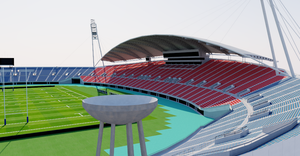 Kumamoto Prefectural Sports Park - Japan 3D model