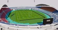 Load image into Gallery viewer, Kumamoto Prefectural Sports Park - Japan 3D model