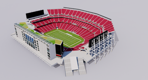 Levi's Stadium - San Francisco California USA 3D model
