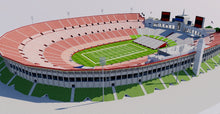 Load image into Gallery viewer, Los Angeles Memorial Coliseum 3D model
