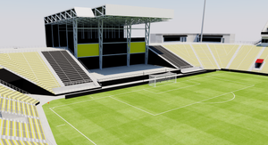 Mapfre Stadium - Columbus Crew 3D model