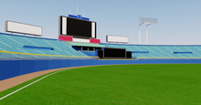 Load image into Gallery viewer, Meiji Jingu Stadium - Tokyo Japan 3D model