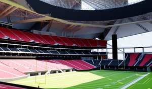Mercedes-Benz Stadium - Atlanta 3D model