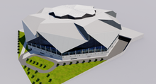Load image into Gallery viewer, Mercedes-Benz Stadium - Atlanta 3D model
