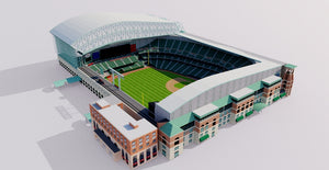 Minute Maid Park - Houston Astros stadium 3D model