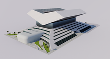 Load image into Gallery viewer, Mohammed Bin Rashid Library - Dubai - UAE 3D model