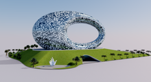 Load image into Gallery viewer, Museum of the Future - Dubai - UAE 3D model