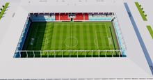 Load image into Gallery viewer, New National Stadium - Luxembourg 3D model