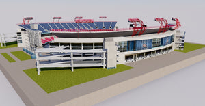 Nissan Stadium - Nashville 3D model