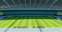 Load image into Gallery viewer, Oita Dome Stadium - Japan 3D model