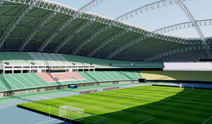 Oita Dome Stadium - Japan 3D model