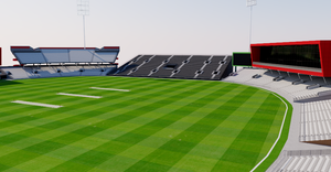 Old Trafford Cricket Ground - Manchester 3D model