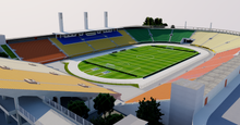 Load image into Gallery viewer, Pacaembu Stadium - Sao Paulo, Brazil 3D model