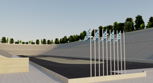 Load image into Gallery viewer, Panathenaic Stadium - Athens Greece 3D model