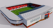Load image into Gallery viewer, Parc y Scarlets Stadium - Wales 3D model