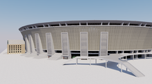 Load image into Gallery viewer, Puskás Arena - Budapest 3D model