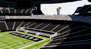 Allegiant Stadium - Las Vegas Raiders USA 3D model
