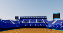 Load image into Gallery viewer, Real Club de Tenis Barcelona 3D model