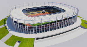 Romania National Arena - Bucharest 3D model