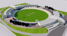 Load image into Gallery viewer, Rose Bowl Cricket Ground - England 3D model