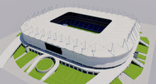 Load image into Gallery viewer, Rostov Arena - Russia 3D model