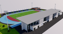 Load image into Gallery viewer, Scotstoun Stadium - Glasgow 3D model