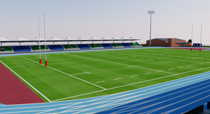 Scotstoun Stadium - Glasgow 3D model