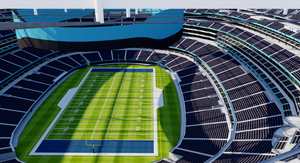 SoFi Stadium - Los Angeles - USA 3D model