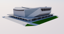 Load image into Gallery viewer, St. Jakobshalle - Basel 3D model