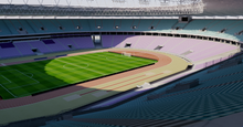 Load image into Gallery viewer, Stade Olympique de Radès - Tunisia 3D model