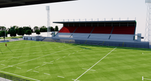 Load image into Gallery viewer, Stadio Plebiscito - Padova - Italy 3D model