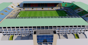 Jan Breydel Stadium - Bruges - Belgium 3D model