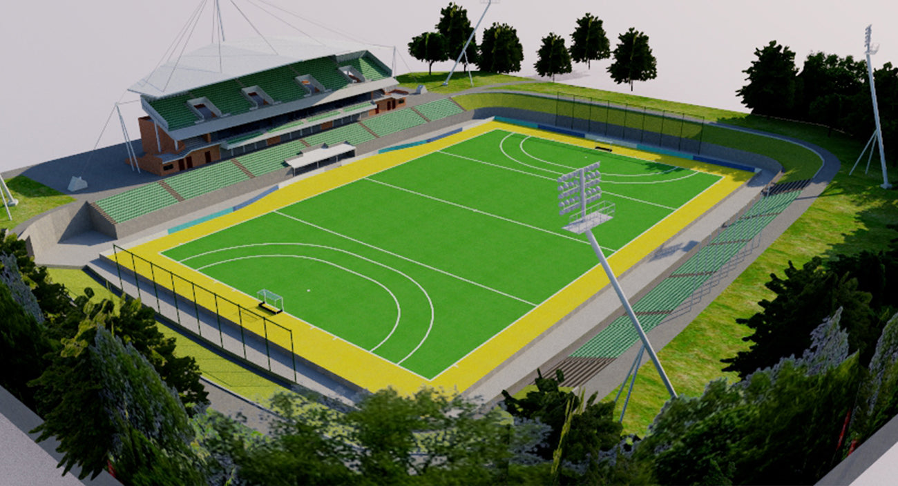 Sydney Olympic Park Hockey Centre 3D model