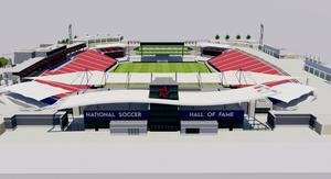 Toyota Stadium - FC Dallas, Texas 3D model