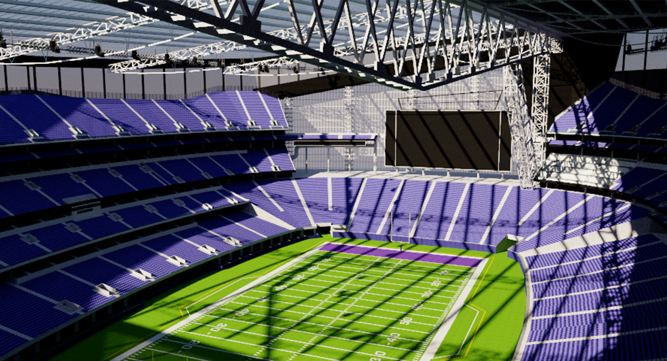US Bank Stadium - Minnesota  3D model